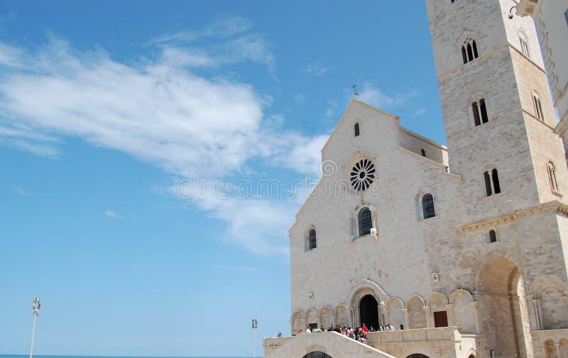 trani church history stock photography