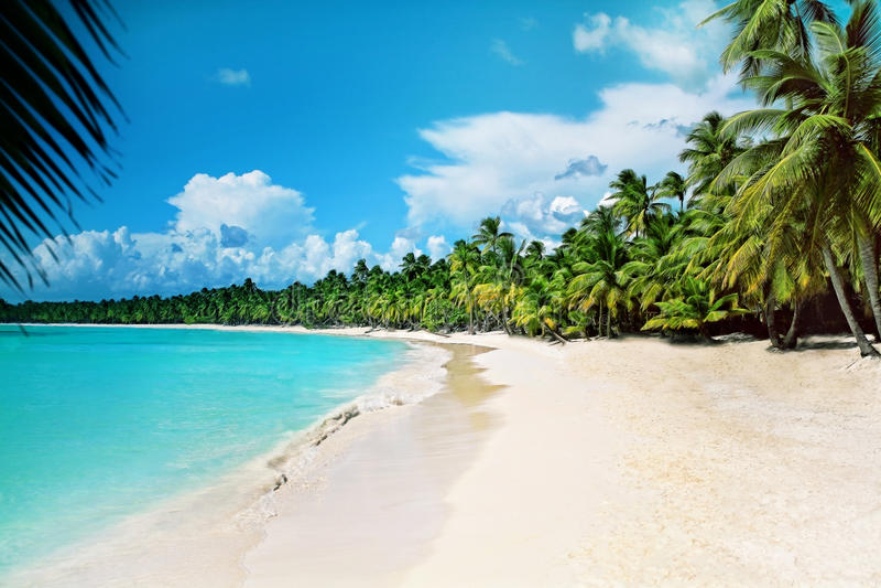 Mare caraibico fotografie stock