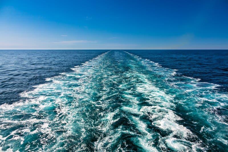 Mare d'un bateau sur la Mer du Nord photos stock