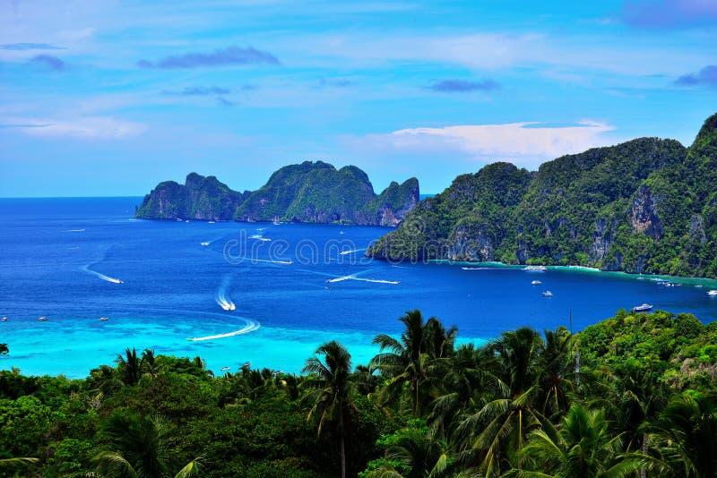 Mare dei sogni in Tailandia del Nord fotografia stock