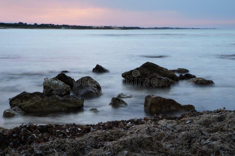 Mare del sud dell'Italia fotografia stock libera da diritti