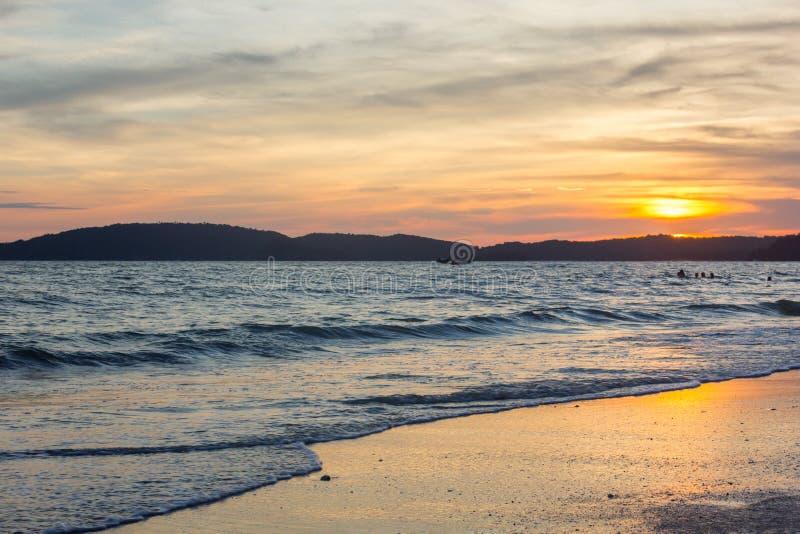 Mare della provincia di thailandKrabi fotografie stock