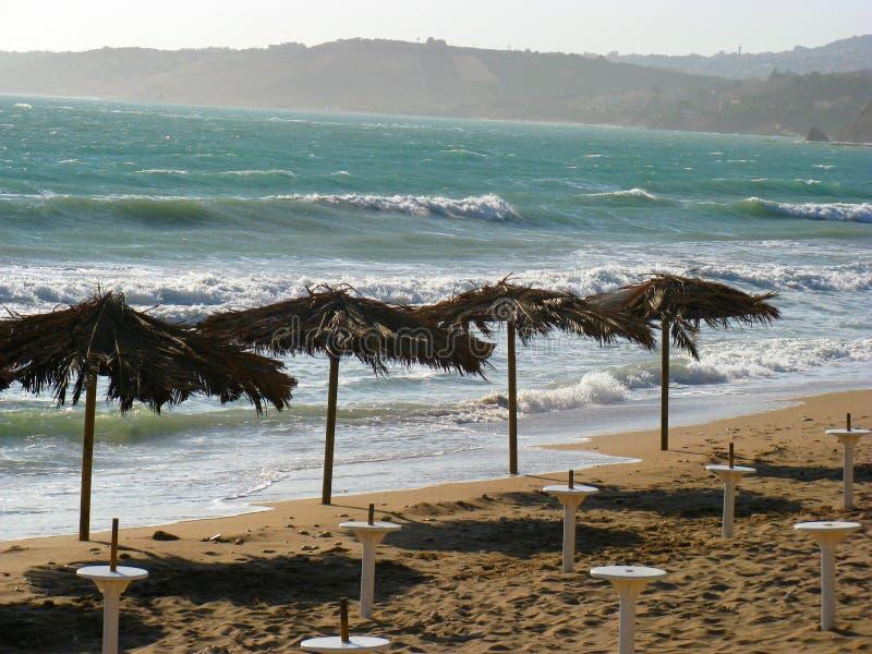 Mare della Sicilia fotografia stock