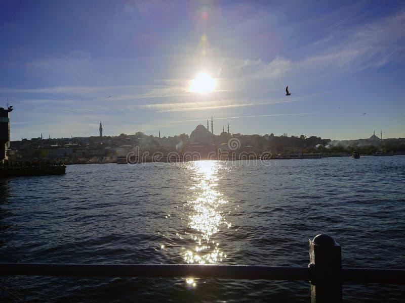Mare di Costantinopoli Marmara fotografie stock