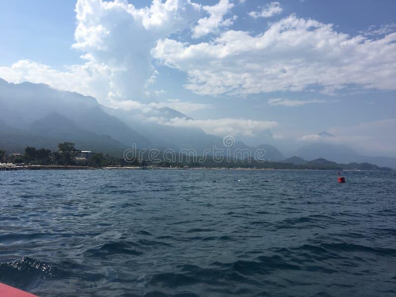 Mare di estate del boattrip della Turchia immagine stock libera da diritti