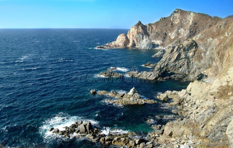 Mare di Giappone, krai di Primorsky. La Russia fotografia stock