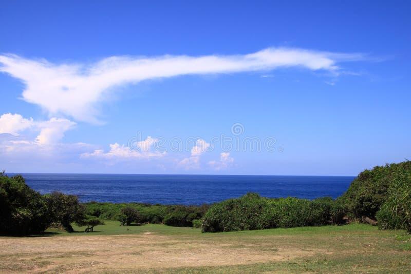 Mare di Kenting Taiwan fotografia stock