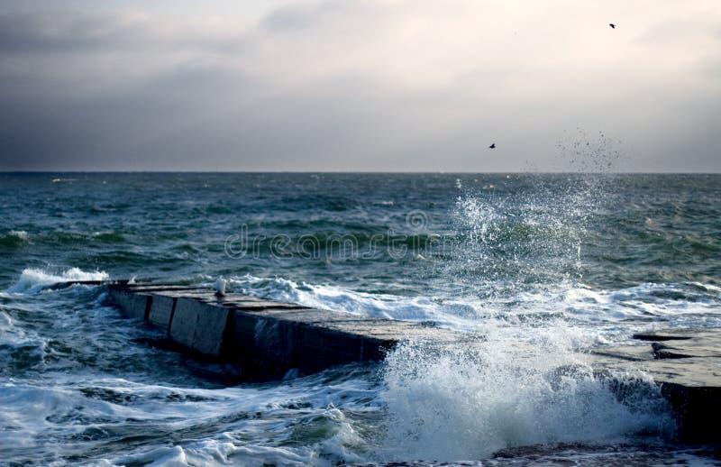 Mare di nuovo anno fotografie stock libere da diritti