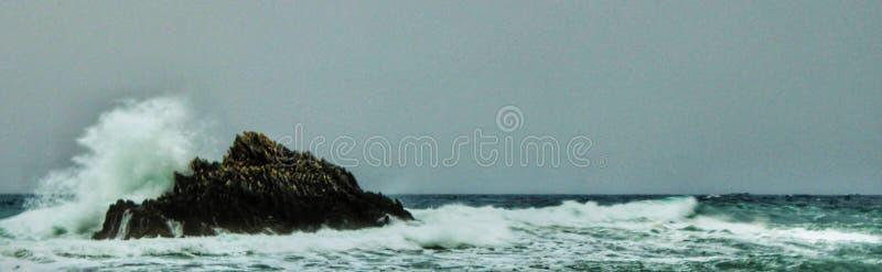 Mare di Stormy fotografia stock