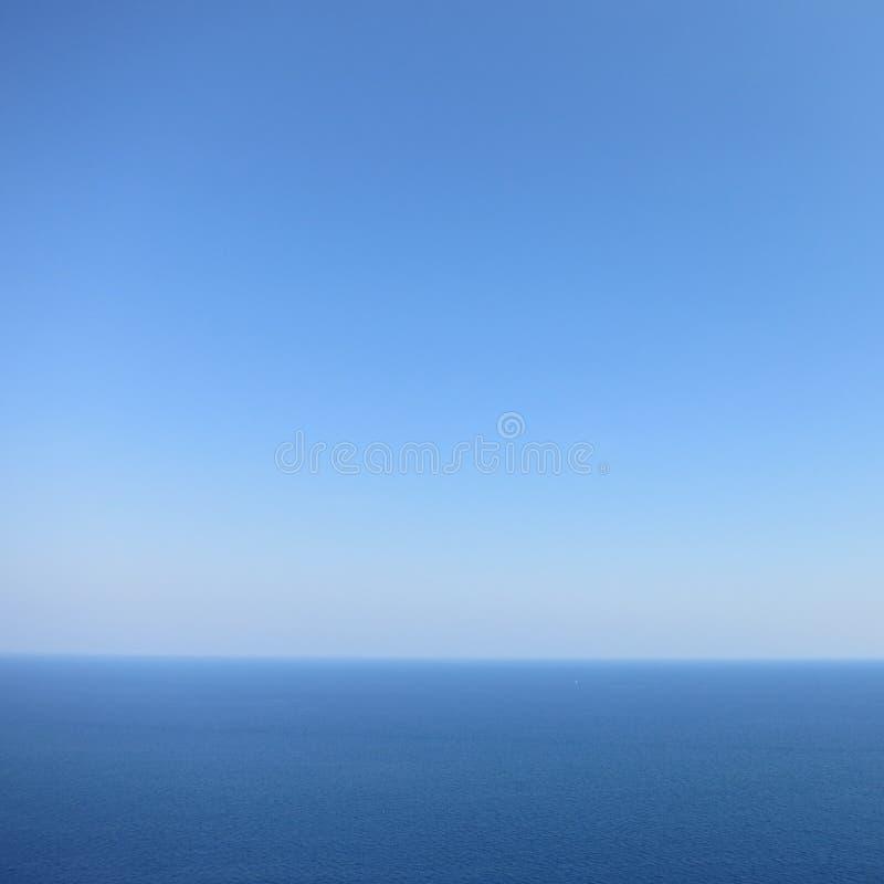 Mare e cielo immagine stock libera da diritti