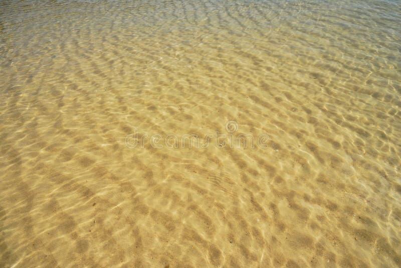 Mare e sabbia fotografia stock libera da diritti