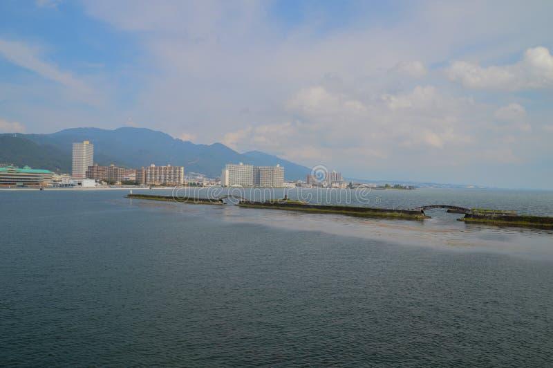 Mare intorno a Otsu Giappone immagini stock