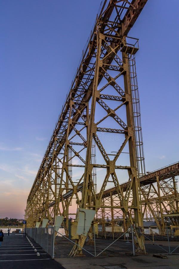 Mare Island Crane photo stock