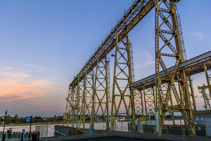 Mare Island Crane photographie stock