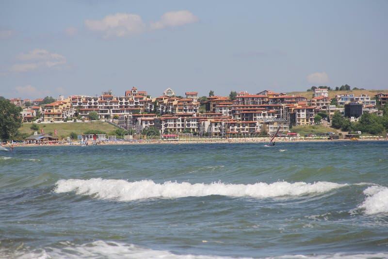 Mare, sabbia, onda, anno 2014 immagini stock libere da diritti