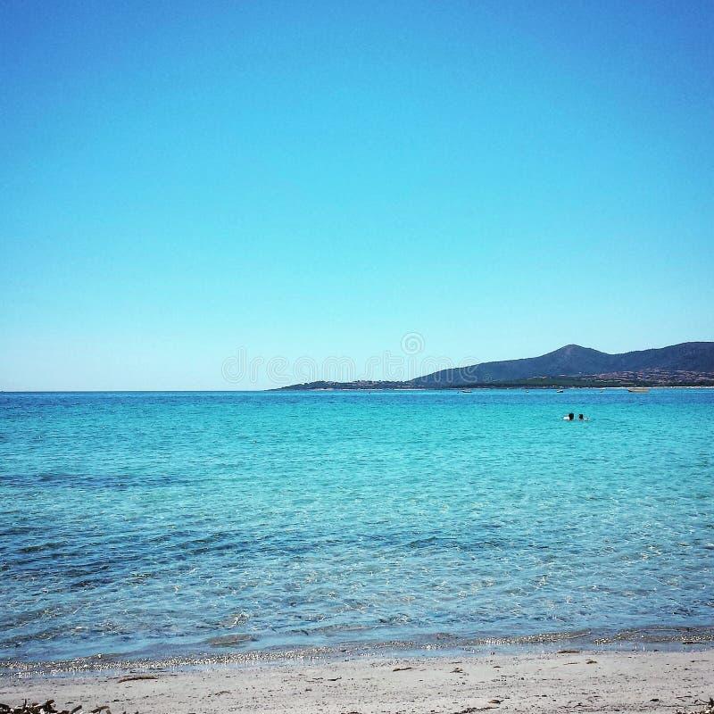 Mare in Sardegna immagini stock libere da diritti