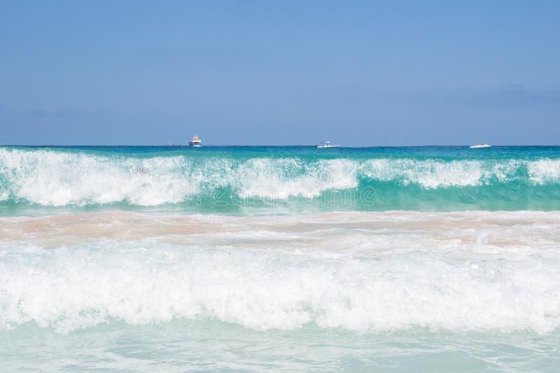 Mare in spiaggia di San Vito Lo Capo fotografia stock