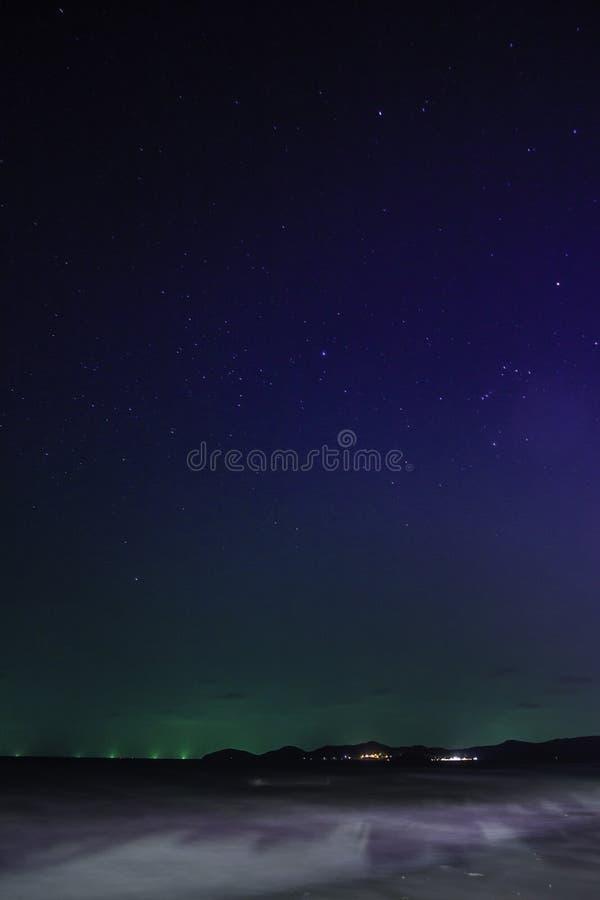 Mare & stelle fotografia stock