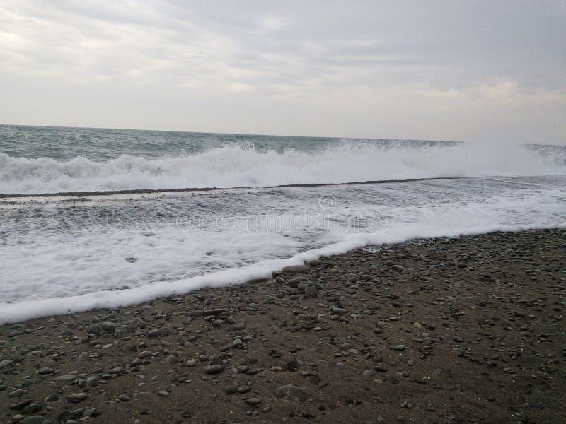 Mare tempestoso immagine stock
