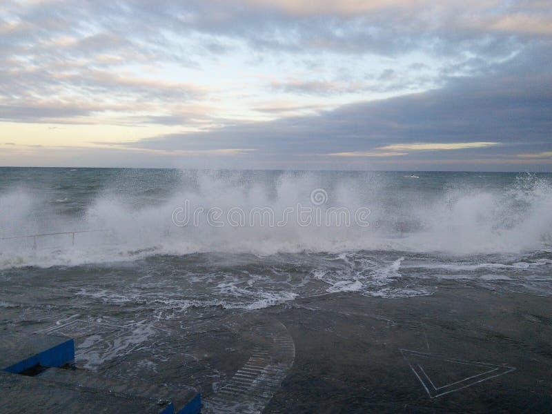 Mare tempestoso immagini stock