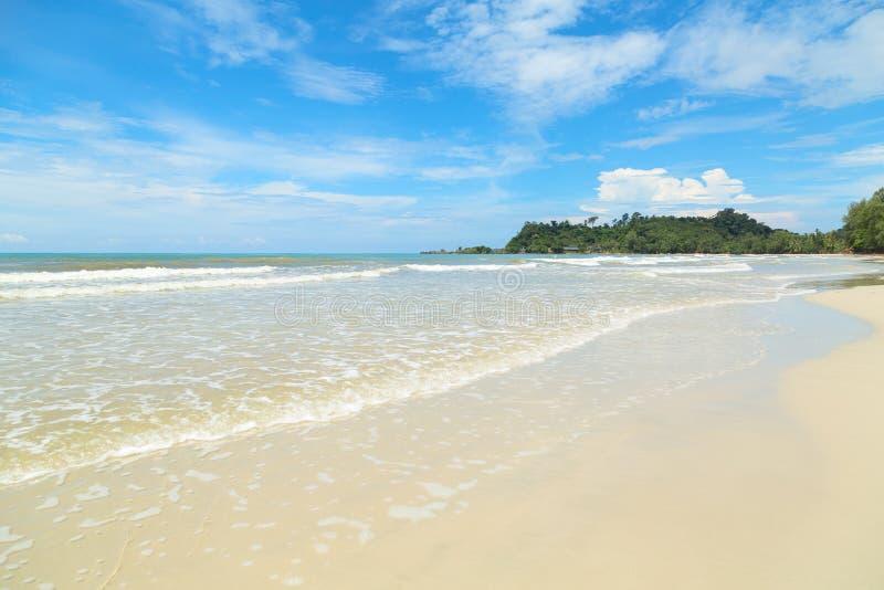 Mare tropicale della spiaggia fotografia stock