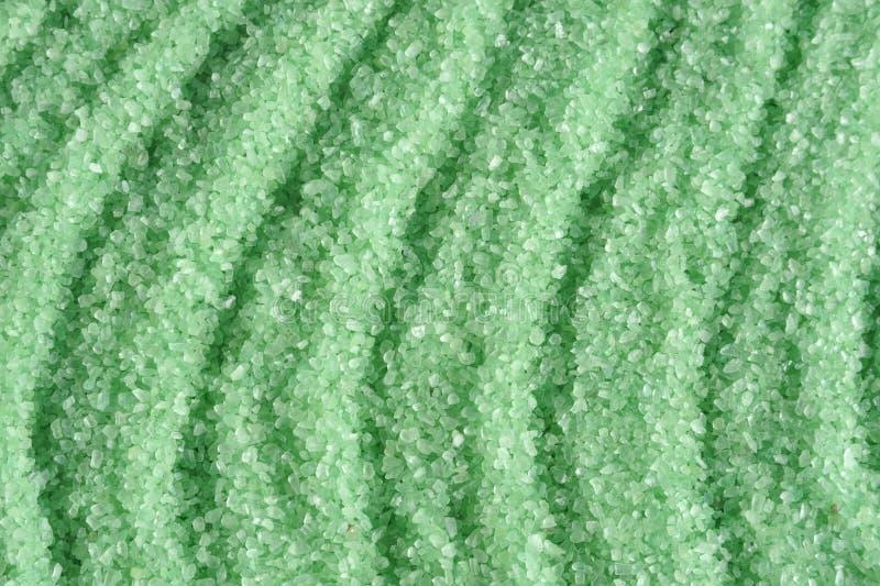mare verde del sale dei cristalli fotografie stock libere da diritti
