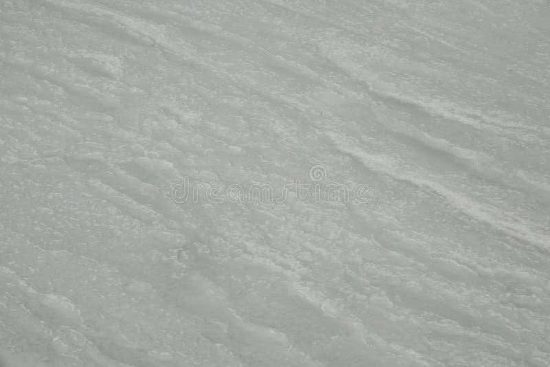 Marea congelata/onde congelate fotografia stock