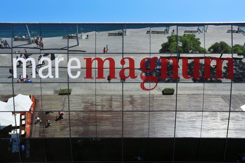 Maremagnum em Barcelona, Spain imagem de stock royalty free