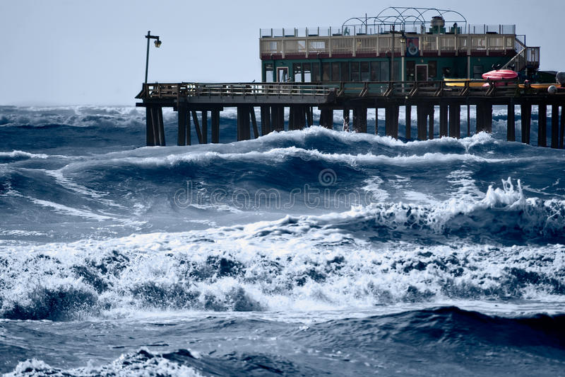 Mares tempestuosos foto de archivo libre de regalías