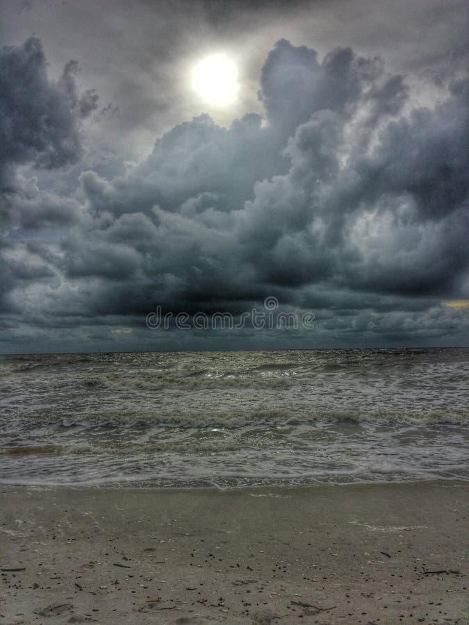 Mares tormentosos imagens de stock royalty free