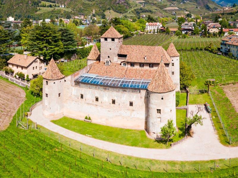 Maretsch slott eller Castel Mareccio fotografering för bildbyråer