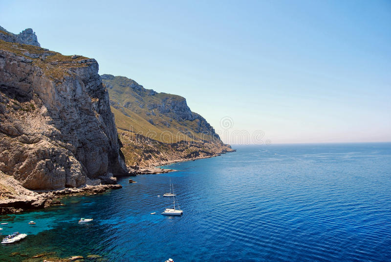 marettimo西西里岛 免版税库存图片