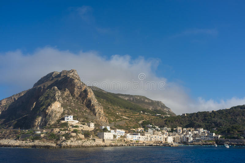 Marettimo Island Stock Photo