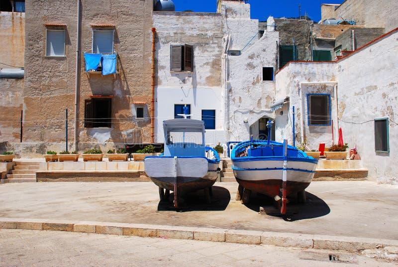 Marettimo (isole di Egadi) Sicilia fotografia stock libera da diritti