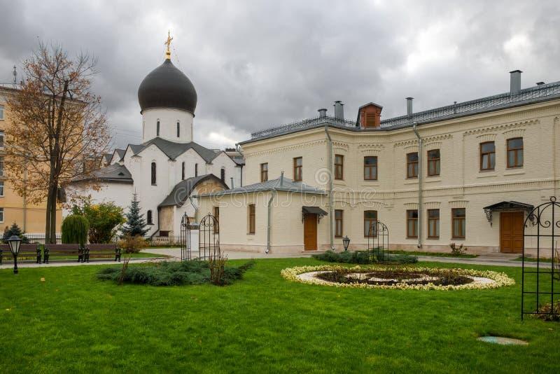 Marfo-Mariinsky klasztor lito?? fotografia royalty free