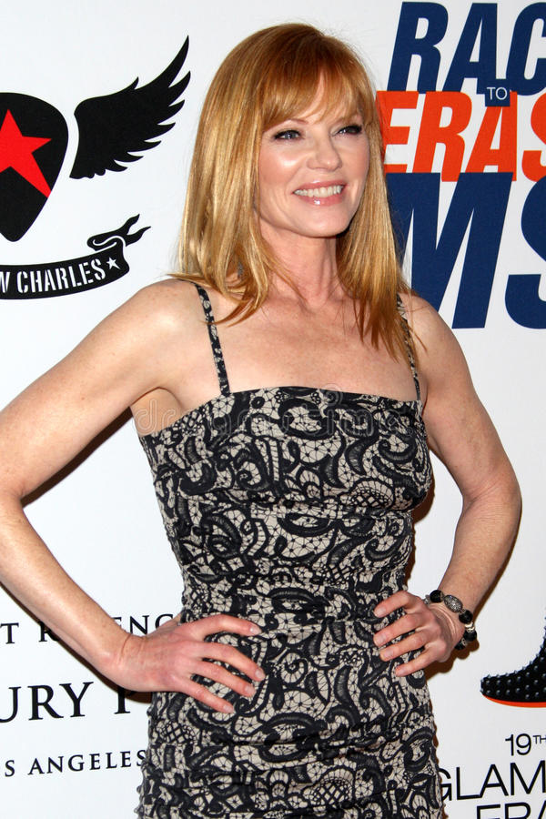 Marg Helgenberger Arrives At The 19th Annual Race To Erase MS Gala Editorial Stock Image