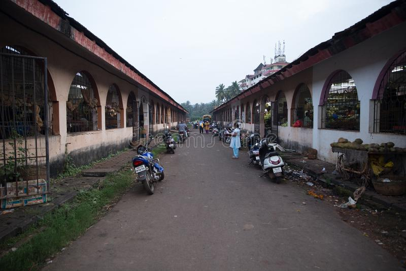 Margaomarkt stock afbeelding