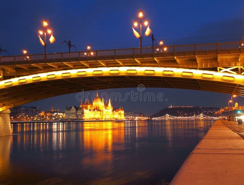Margaret Bridge royalty free stock images