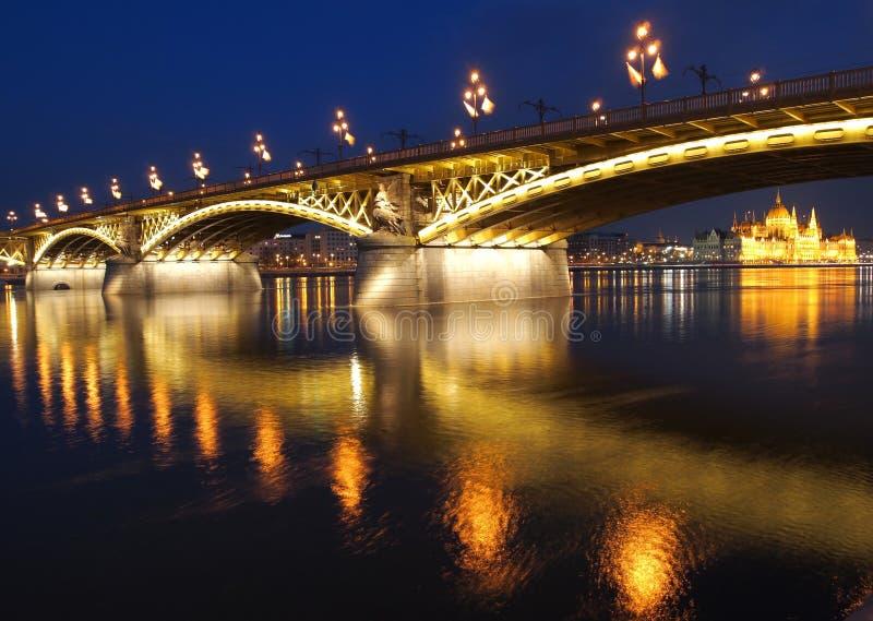 Margaret Bridge stock image