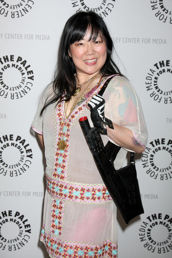 Margaret Cho. Arriving at the Drop Dead Diva: Season 1 Finale at the Paley Center for Media Paley Center for Media Beverly Hills, CA October 7, 2009 stock images