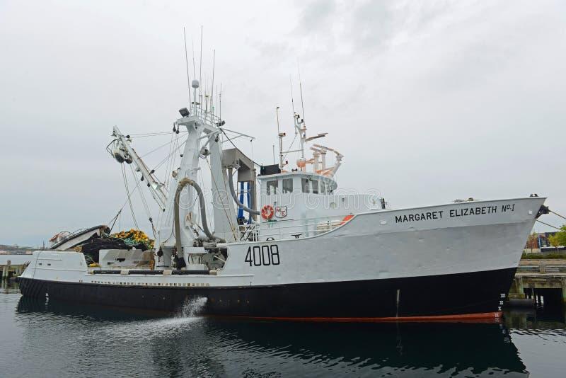 Margaret Elizabeth No 1, Halifax, Nova Scotia, Canada stock afbeelding