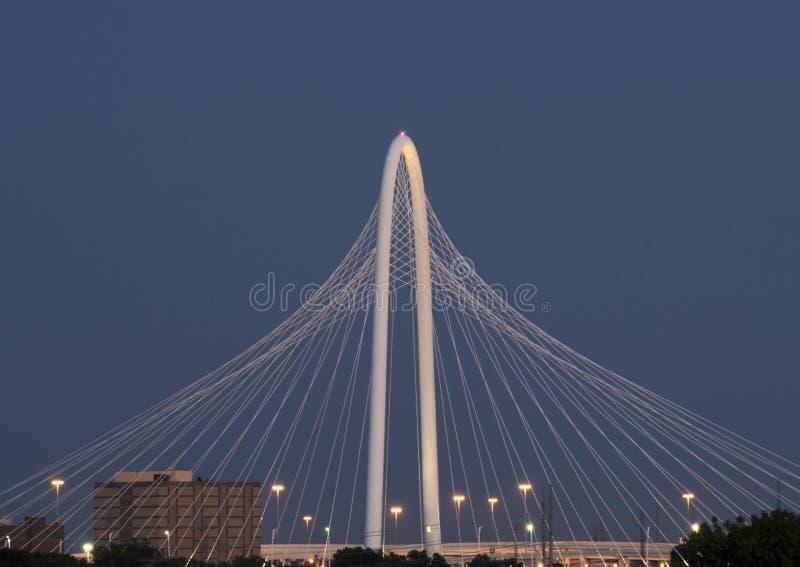 Margaret Hunt Hill Bridge, Dallas immagine stock libera da diritti