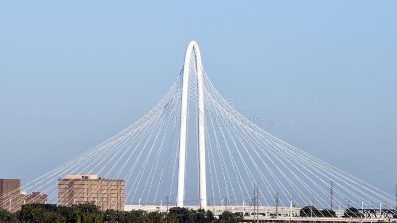 Margaret Hunt Hill Bridge, Dallas fotos de archivo