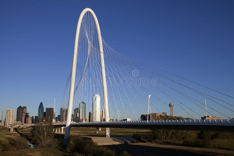 Download Margaret Hunt Hill Bridge - Dallas Texas Editorial Stock Image - Image: 22292904