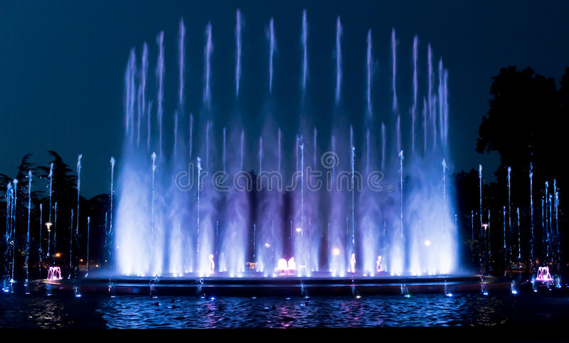 Margaret Island fountain royalty free stock images