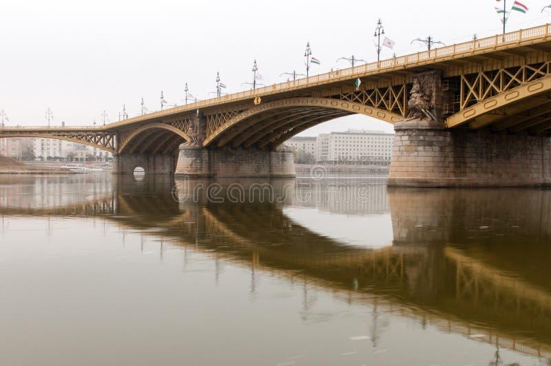 Margaret most na Chmurnym dniu obrazy stock