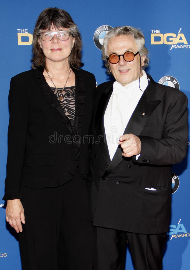 Margaret Sixel i George Miller zdjęcie royalty free