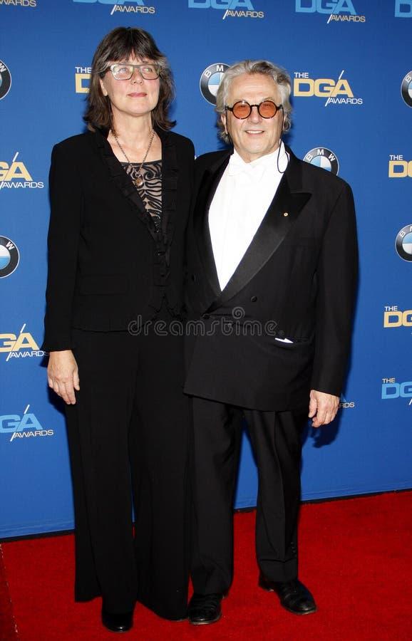 Margaret Sixel i George Miller zdjęcia royalty free