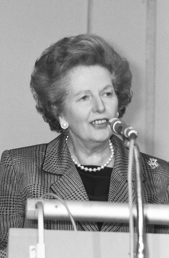 margaret Thatcher obraz royalty free