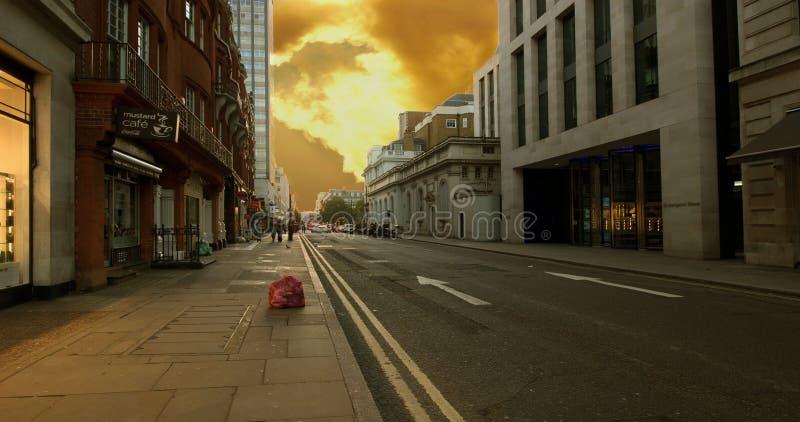 Margaret ulica, Londyn, UK fotografia royalty free